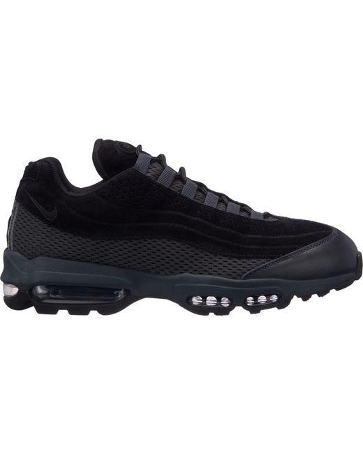 Nike Air Max 95 Ultra Premium Br Mens Trainers Black Black - 7 Uk for men