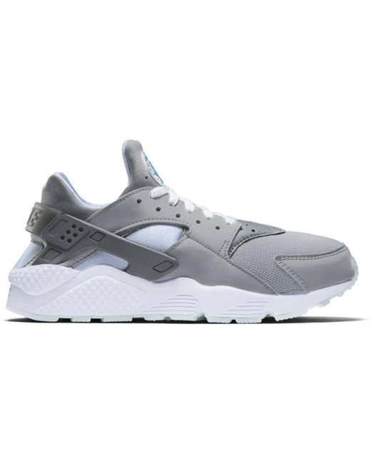 Nike Gray Air Huarache Marty Mcfly for men
