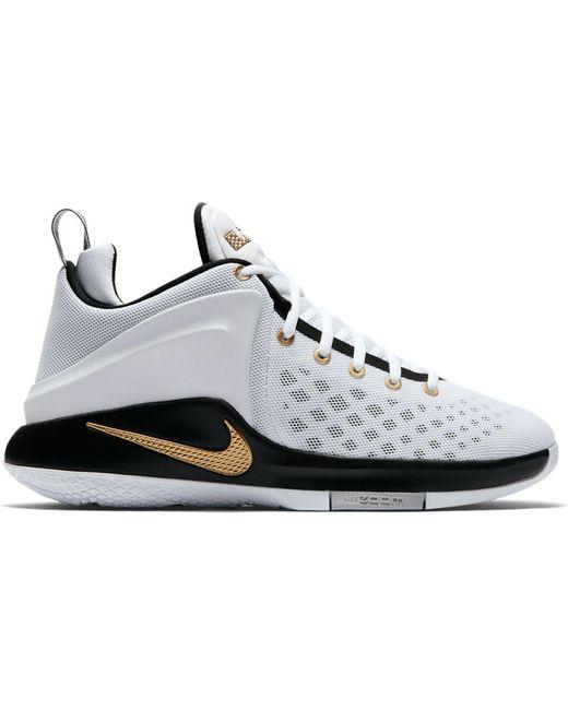 Nike Multicolor Zoom Witness White Metallic Gold Black for men