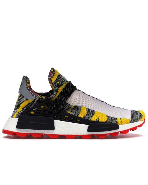 Adidas Black Nmd Hu Pharrell Solar Pack Red for men