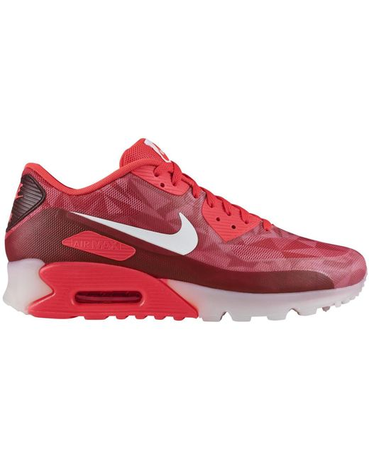 Nike Red Air Max 90 Ice Laser Crimson for men