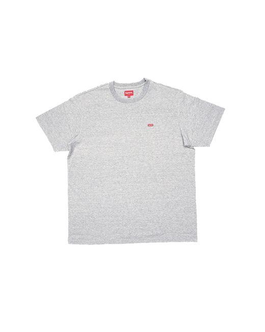 Supreme Gray Small Box T-shirt 'fw 19' for men