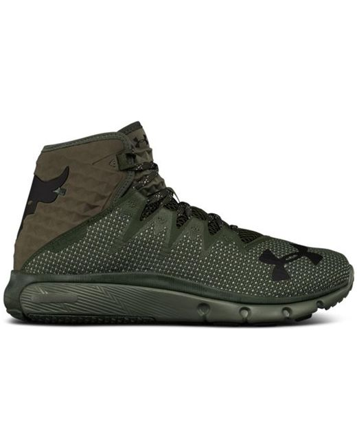 Under Armour The Rock Delta Downtown Green for men