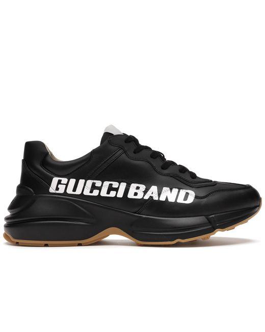 メンズ Gucci ライトン スニーカー Black