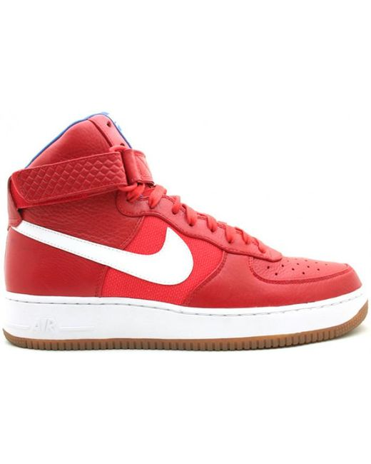separation shoes 98f1e 2bd15 Men's Air Force 1 High Bobbito Puerto Rico Red