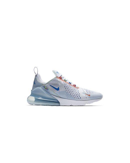 メンズ Nike Air Max 270 White Blue