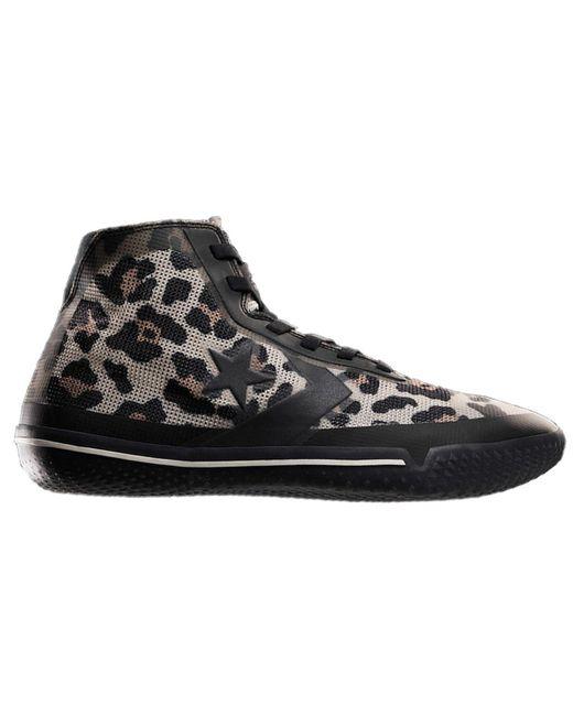 converse all star leopardo