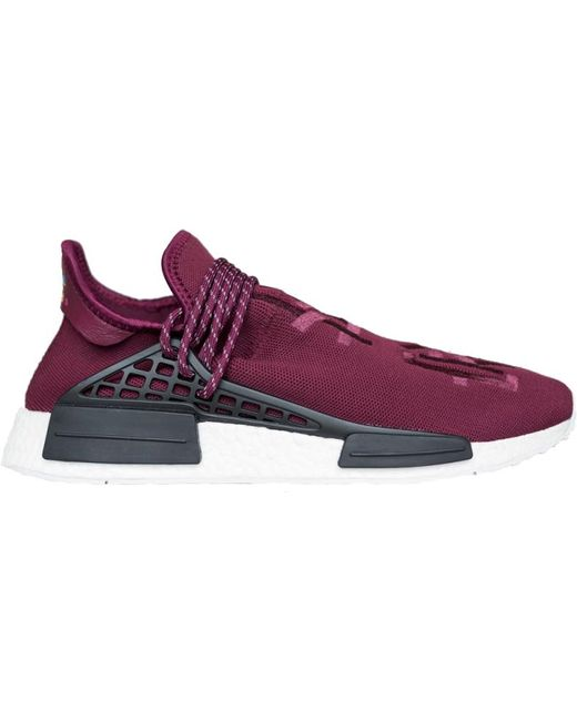san francisco 50% off nice cheap Nmd R1 Pharrell Hu Friends And Family Burgundy