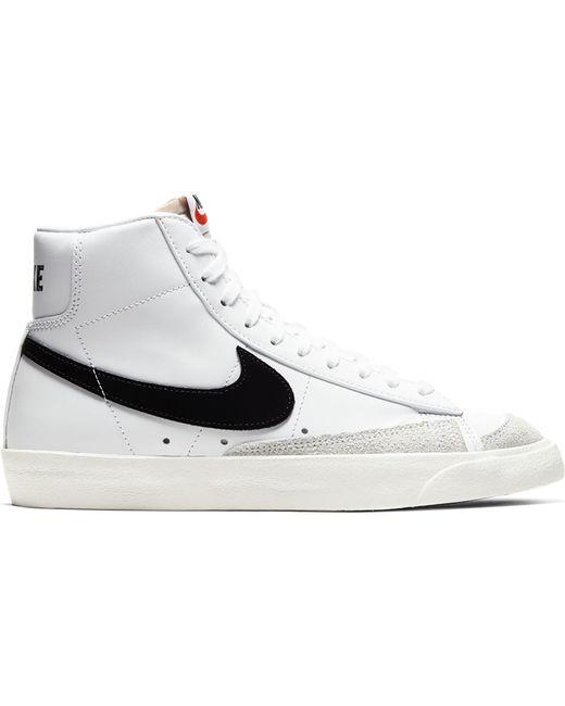 Nike White Blazer Mid 77