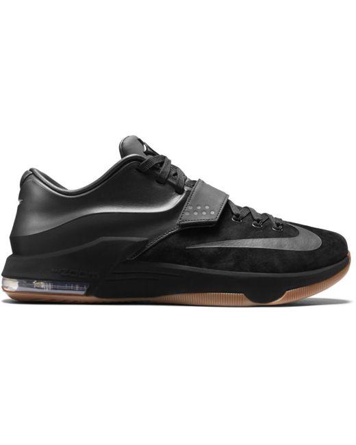 separation shoes 784fc 05ad1 Men's Kd 7 Ext Black Suede