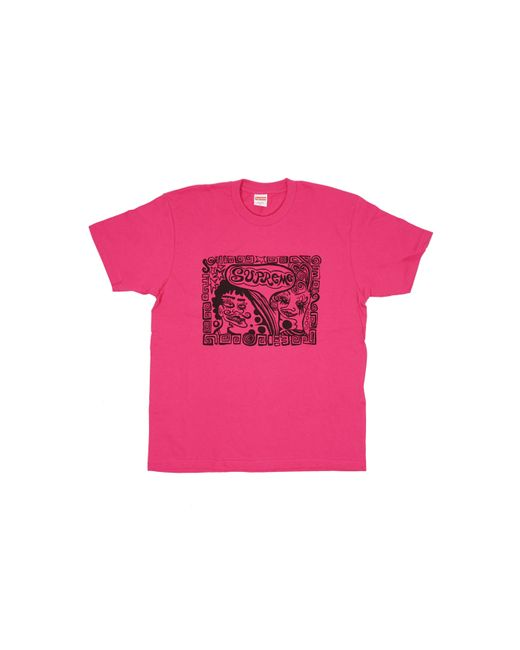 Supreme Pink Faces Tee for men