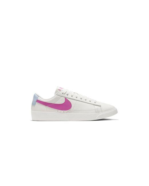 Nike White W Blazer Low Av9370 102