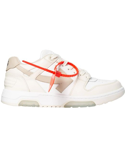 Off-White c/o Virgil Abloh Ooo Low Out Of Office White Beige (w)