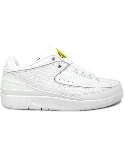 Nike 2 Retro Low White Varsity Maize for men