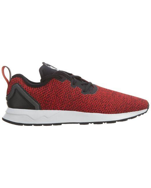 Adidas Zx Flux Adv Asym Red/ftwwhite/cblack for men