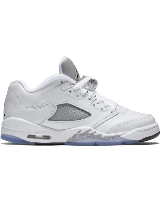 736ff192 Lyst - Nike 5 Retro Low Wolf Grey (gs) in Gray for Men