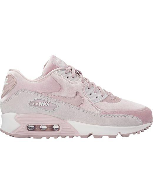 best service cc55e 45ca1 Women's Pink Air Max 90 Velvet Particle Rose (w)