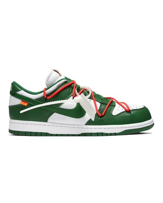 Nike Dunk Low Off-white Pine Green for men