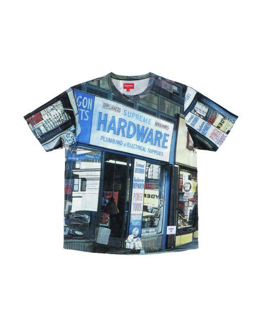 Supreme Blue Hardware S/s Top for men