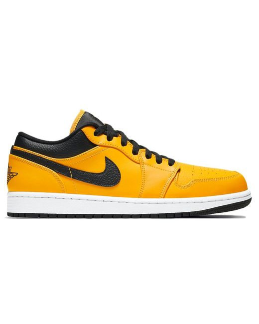 Nike Yellow 1 Low University Gold for men