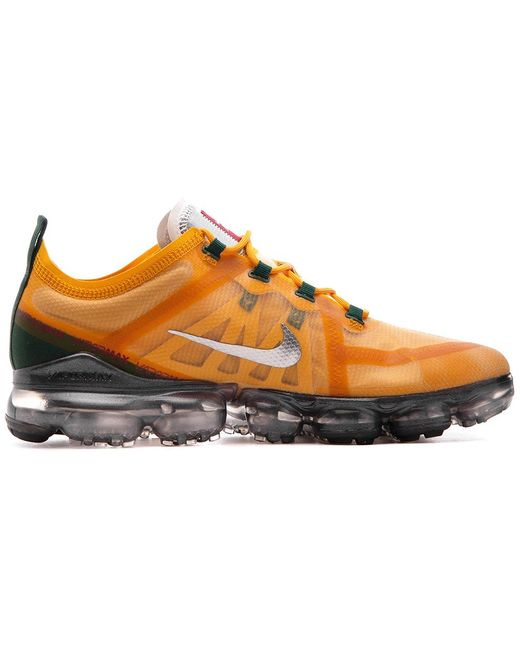 new products 43cee 9bd87 Men's Orange Air Vapormax 2019 Canyon Gold