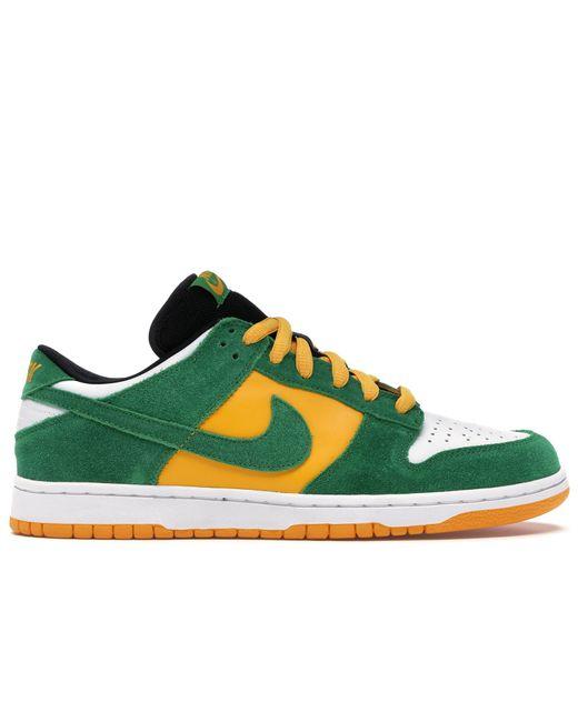 Nike Green Dunk Sb Low Bucks for men