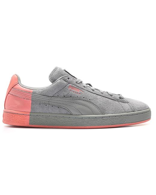 PUMA Suede Grey Staple Pigeon in Gray