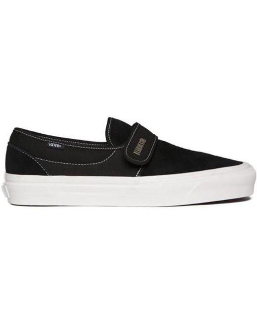 Vans Slip On 47 Fear Of God Maxfield Black Suede Size 10 Brand New