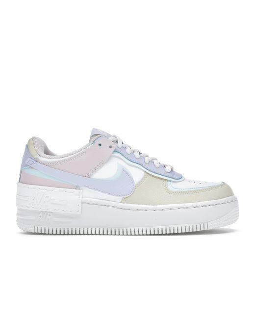 Nike Air Force 1 Shadow White Glacier Blue Ghost (w)