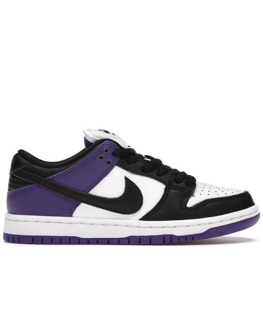 Nike Sb Dunk Low Court Purple for men