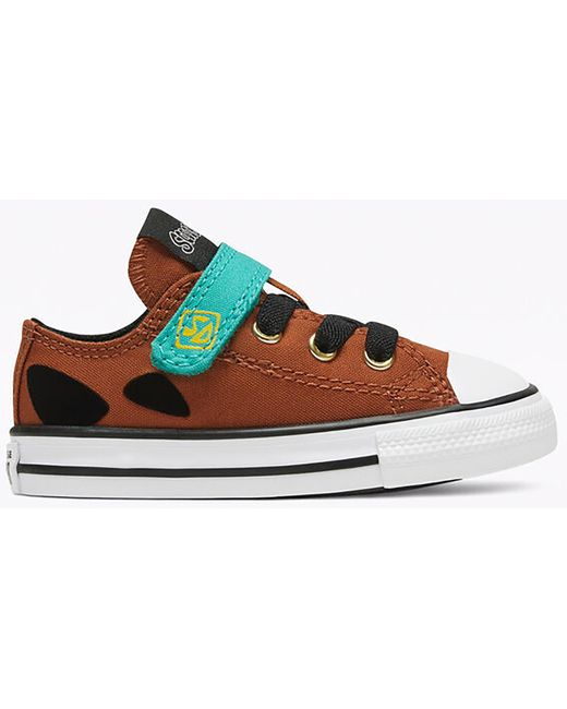 Converse Chuck Taylor All-star Easy-on Scooby-doo (td) in Brown ...
