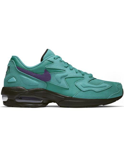 Nike Green Air Max2 Light Reverse Grape for men