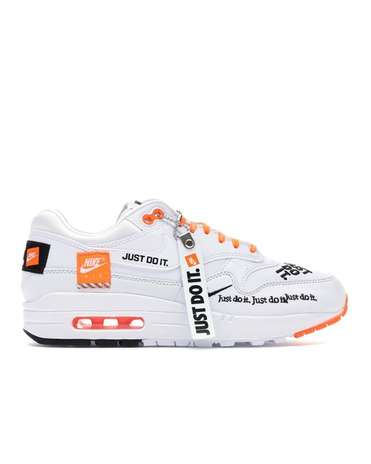 Nike Air Max 1 Just Do It White (w) - Lyst