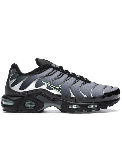 Nike Gray Air Max Plus Black Particle Grey Vapour Green for men