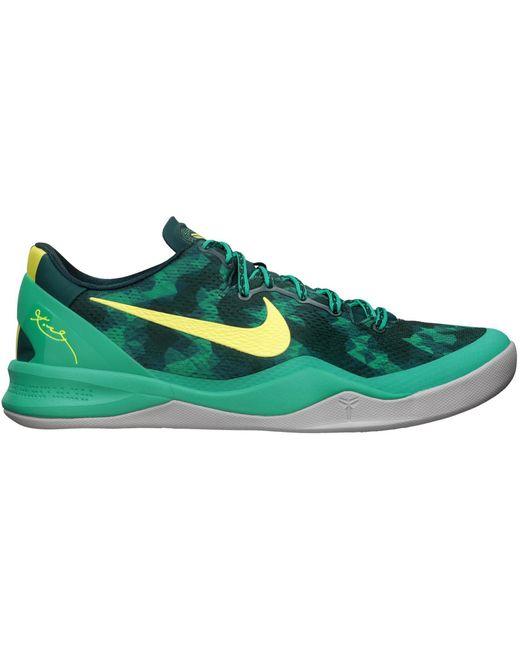 Nike Green Kobe 8 System+ for men