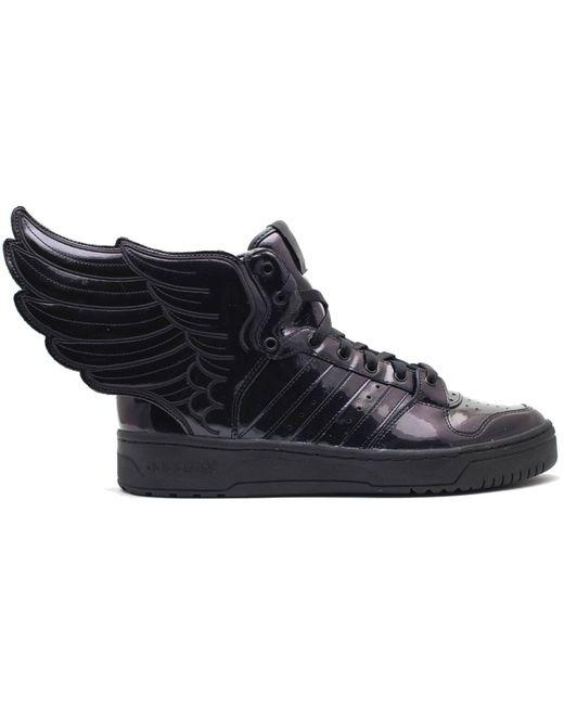 Adidas Js Wings 2.0 Black Patent for men