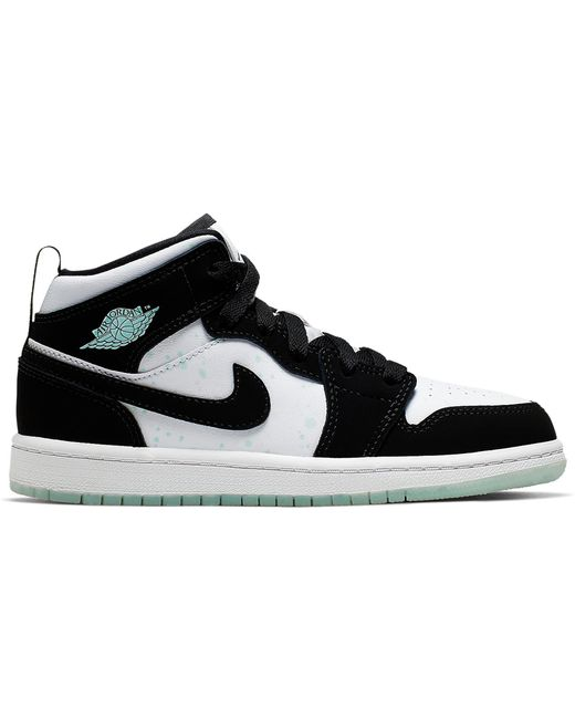 Nike 1 Mid White Black Teal Tint (ps)