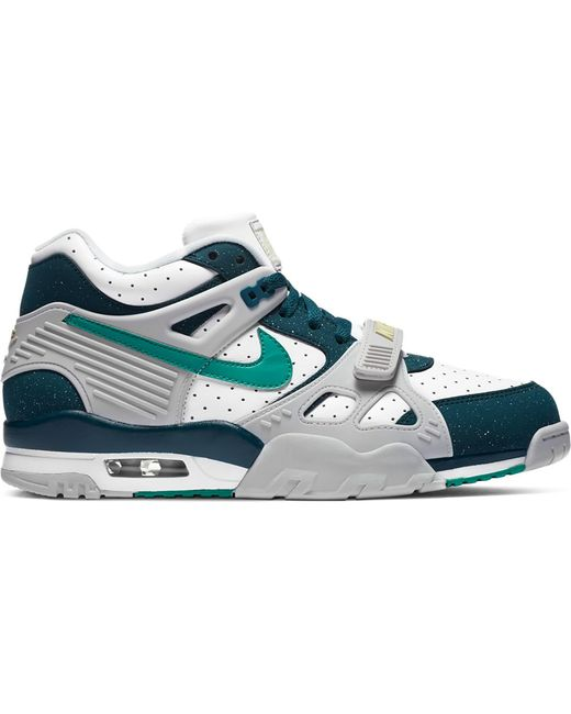 Nike Multicolor Air Trainer 3 White Midnight Turquoise for men