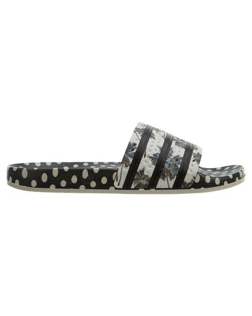 Adidas Adilette Supplier Color Black-white (w)