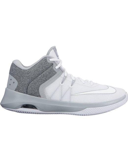 Nike Gray Air Versatile 2 White Wolf Grey for men