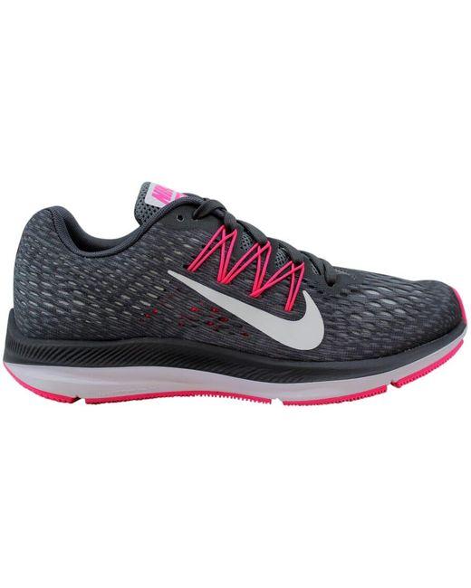 Nike Gray Zoom Winflo 5 Dark Grey (w)