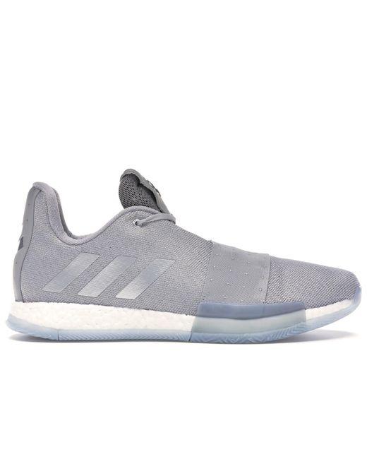 Adidas Gray Harden Vol. 3 Grey Two for men