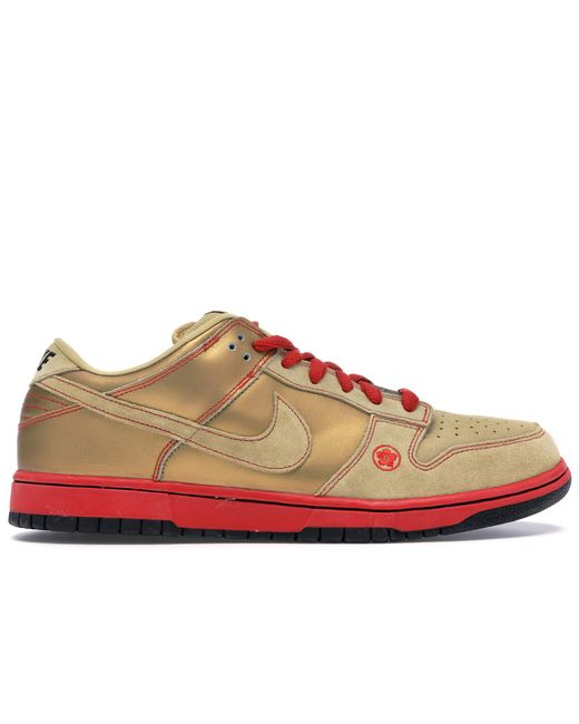 size 40 official store where can i buy Nike Dunk Sb Low Money Cat in Metallic for Men - Lyst