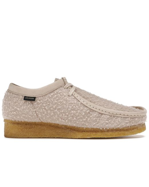 メンズ Clarks Originals Wallabee Aime Leon Dore Casentino Wool Natural