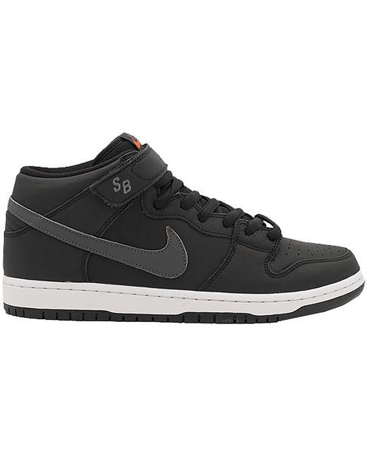 Nike Sb Dunk Mid Iso Orange Label Black Dark Grey for men