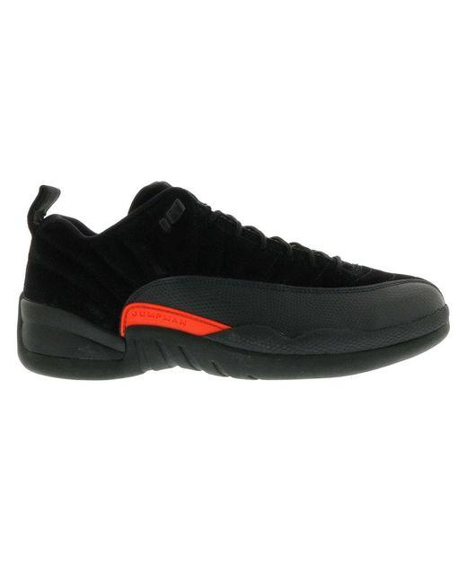 メンズ Nike Air 12 Retro Low スニーカー Black