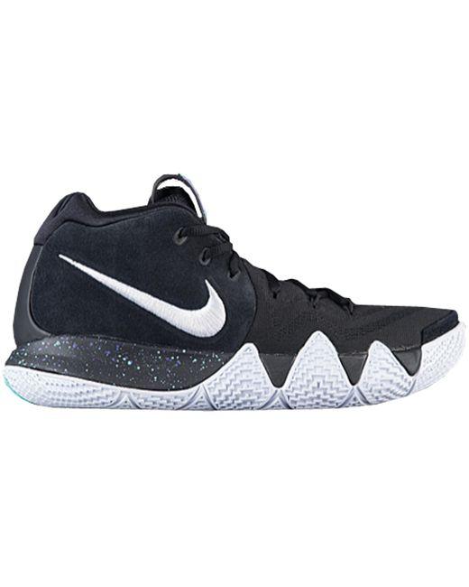Nike Black Kyrie 4 Ankle Taker for men