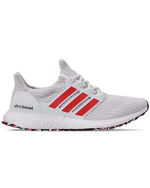 Adidas Ultra Boost 4.0 Cloud White Active Red (sample) for men