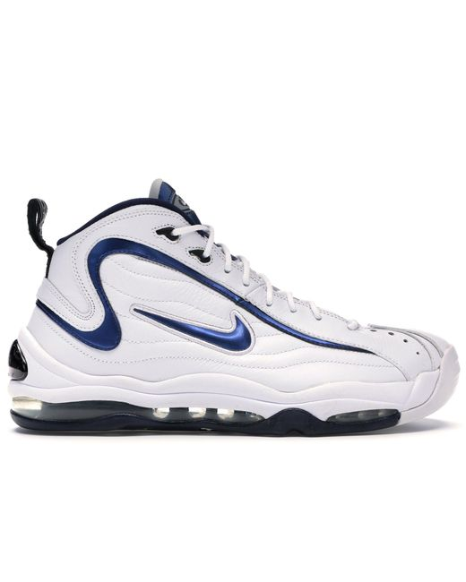 Nike Blue Air Total Max Uptempo White Midnight Navy (2009) for men