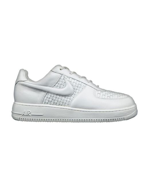 Men's White Air Force 1 Low Lux